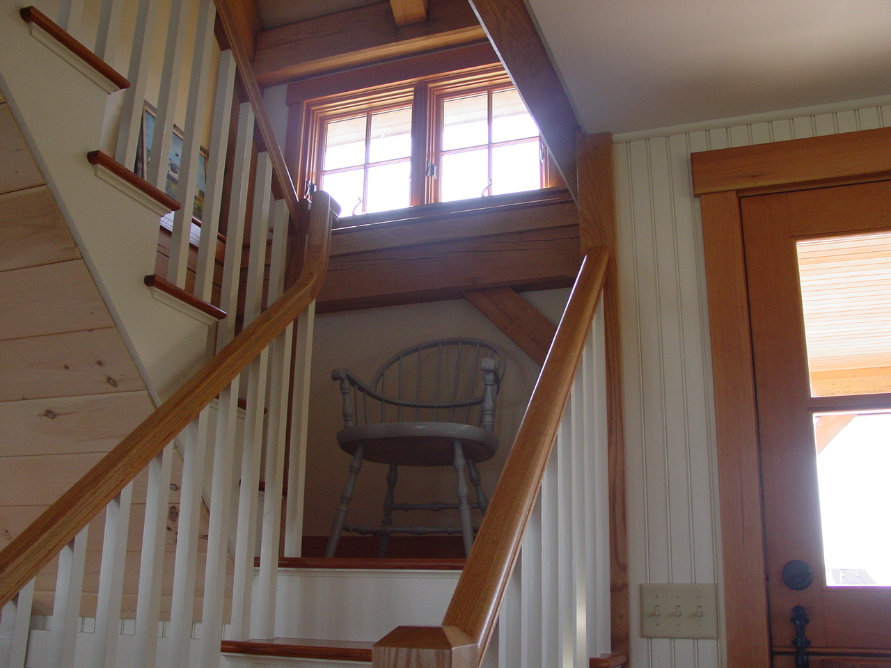 view of stairway to second floor