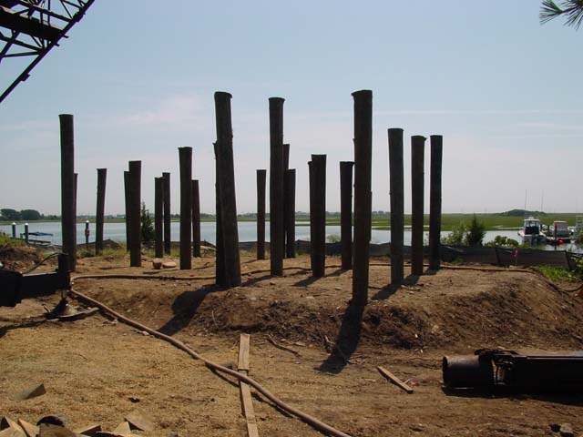 New pilings for new RI Hurricane code