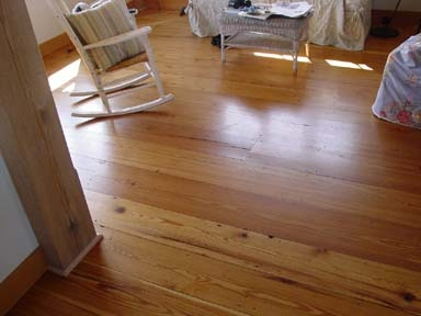 reclaimed southern pine flooring